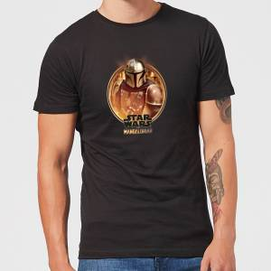 Star Wars Camiseta The Mandalorian Framed - Hombre - Negro - S - Negro