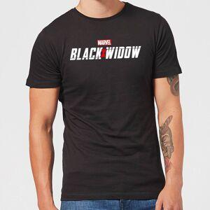Marvel Camiseta Viuda Negra Movie Logo - Hombre - Negro - L - Negro