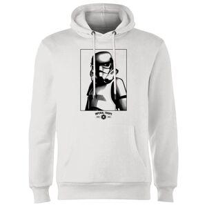 Star Wars Sudadera Star Wars Tropas Imperiales - Blanco - M - Blanco