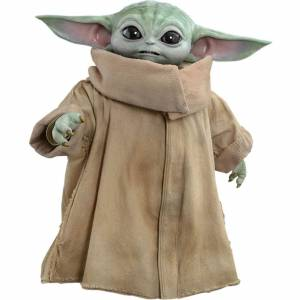 Hot Toys Figura El Niño (Baby Yoda) Star Wars The Mandalorian (tamaño real: 36 cm) - Hot Toys
