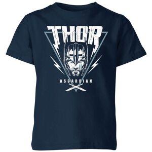 Marvel Camiseta Marvel Thor Ragnarok Asgardian Triángulo - Niño - Azul marino - 9-10 años - azul marino