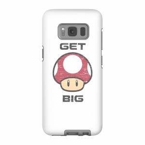 Nintendo Funda Móvil Nintendo Super Mario Get Big Mushroom para iPhone y Android - Samsung S8 - Carcasa doble capa - Mate