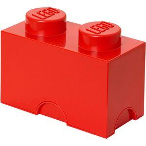 Room Copenhagen Ladrillo de almacenamiento LEGO (2 espigas) - Rojo