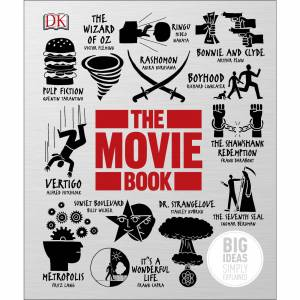 DK Publishing The Movie Book: Big Ideas Simply Explained (tapa dura)