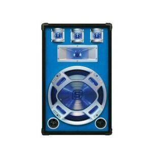 "Skytec 178.506 Altavoz 15"" Azul Leds Pasivo"