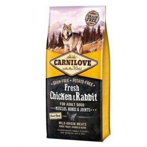 Carnilove Canine Adult Fresh Pollo & Conejo Joints 1.5 Kg