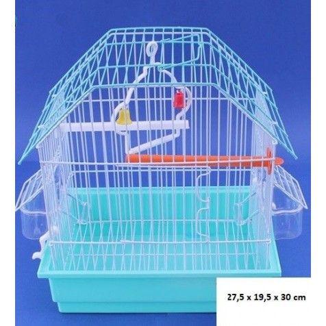 COMPLEMENTOS Jaula Para Pájaros Love Bird Rojo