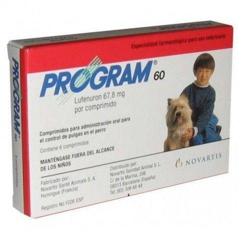 ELANCO Program 60 6 Comprimidos (2.5-7kg)