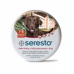 Bayer Seresto Perros +8 Kg