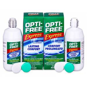 Alcon Líquido OPTI-FREE Express 2 x 355 ml
