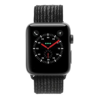 Apple Watch Series 3 aluminio gris 42mm con pulsera deportiva Loop negro (GPS + Cellular) aluminio gris - Reacondicionado: como nuevo   30 meses de