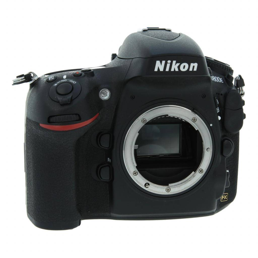 Nikon D800E negro refurbished