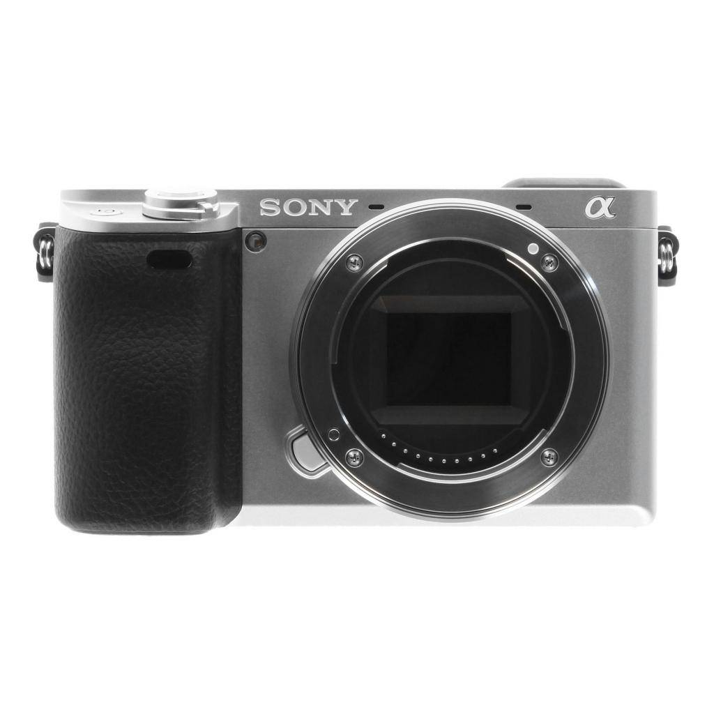 Sony Alpha 6300 plata refurbished
