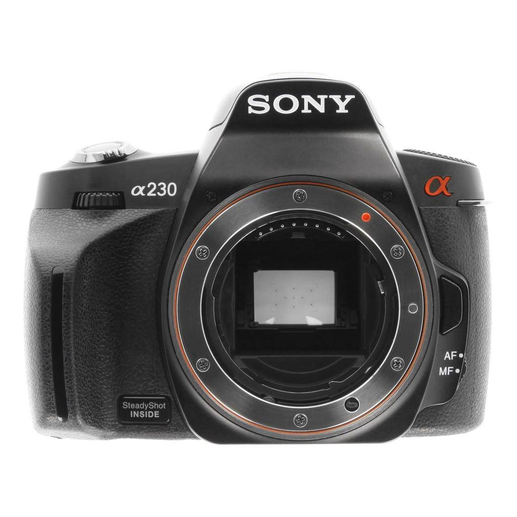 Sony Alpha 230/DSLR-A230 negro refurbished
