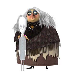 Disfraz de abuela de la Familia Addams para mujer