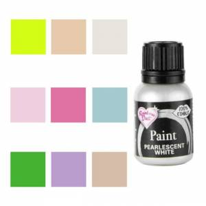 Pastkolor Pintura comestible perlada de 25 ml - Rainbow Dust - Color Rosa bebé