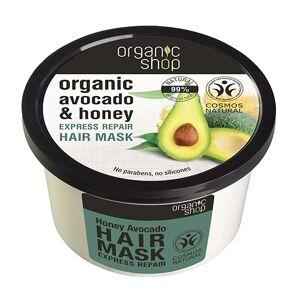 Organic Shop Mascarilla capilar Express Repair Honey Avocado