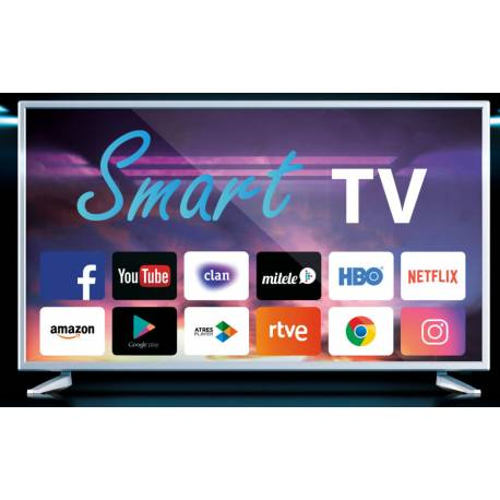 "Lufthous El03tv40lh Televisor Led 40"" Smart Tv Tdt Hd Integrado"