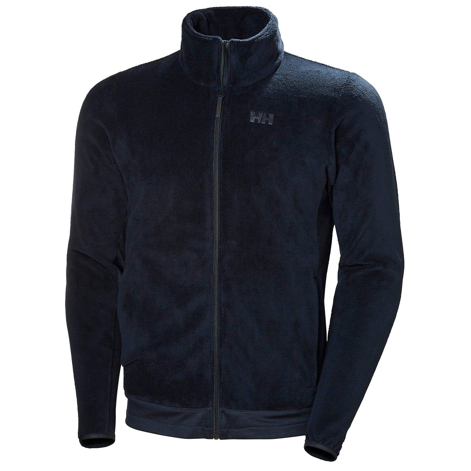 Helly Hansen hombres Feather Pile chaqueta polar Azul marino M