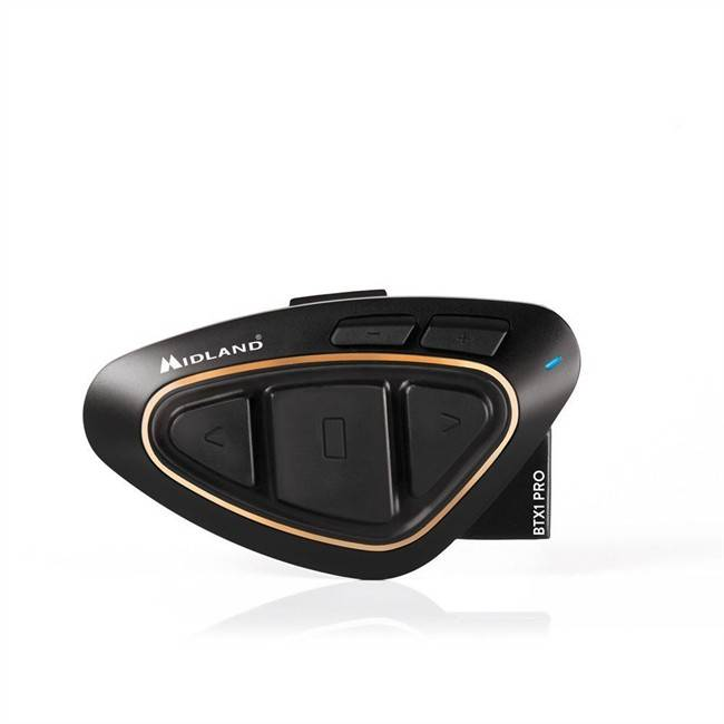 Norauto Intercomunicador Moto Midland Btx1 Pro Single (1 Unidad) Color Negro