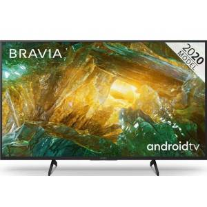 """Sony TV 49"""" 49XH8096 - UHD 4K, Smart Android TV, HDR Processor X1, Dolby Vision/Atmos, MotionFlow XR"""
