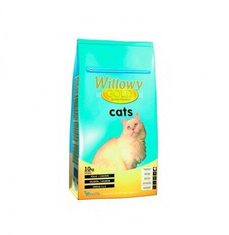 WILLOWY Gold Cats (Pollo, Salmón Y Atún) 10kg