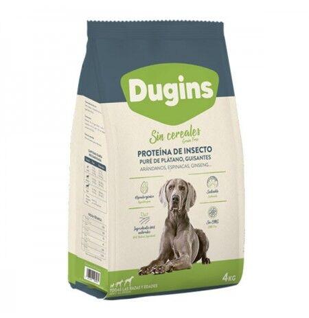 DUGINS Plátano Y Proteína De Insecto Para Perros 4kg