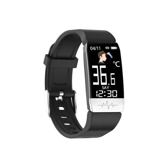 KSIX Fitness Band Thermometer Hr Negro 1ud
