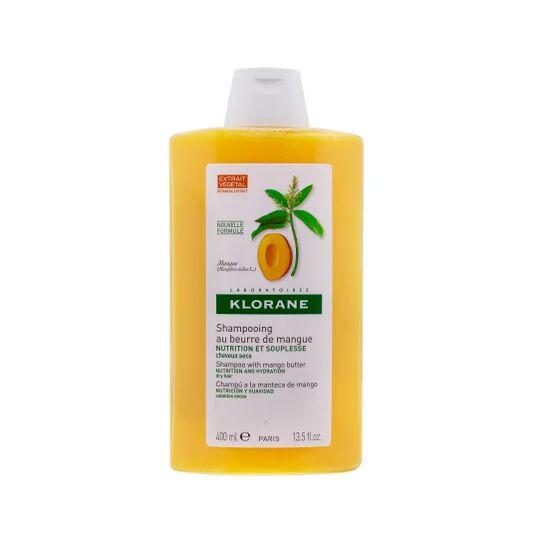 Klorane champú a la manteca de mango 400ml