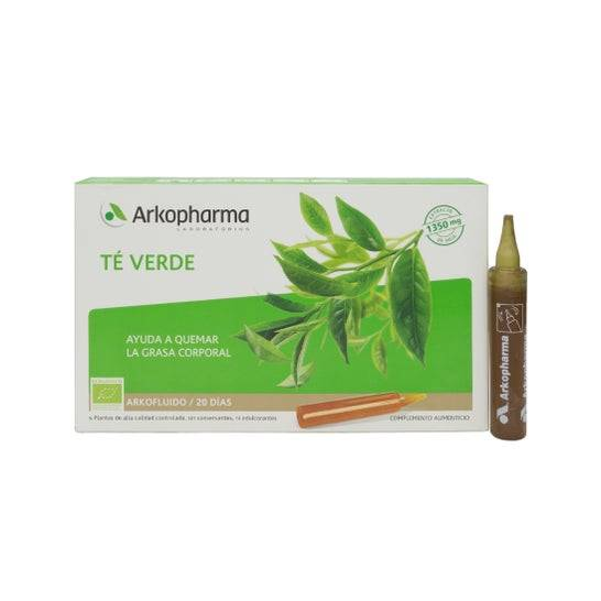 Arkopharma Arkofluido Té Verde 20amp bebibles