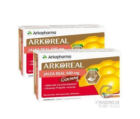 Arkopharma Arkoreal Jalea Real y Ginseng 2x20amp