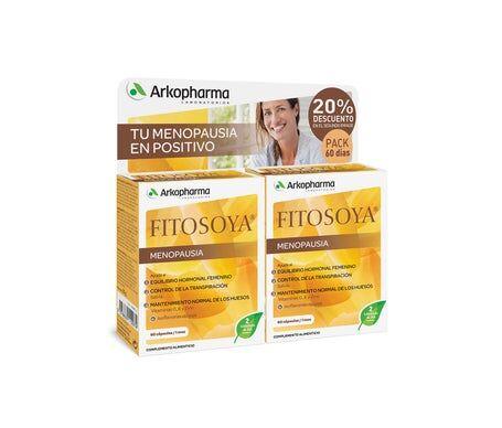 Arkopharma Fitosoya Isoflavonas 60 Cápsulas X 2