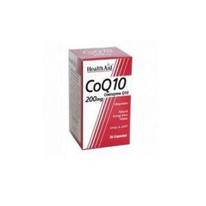 HealthAid Coq10 Coenzima Q10 200Mg 30Cps