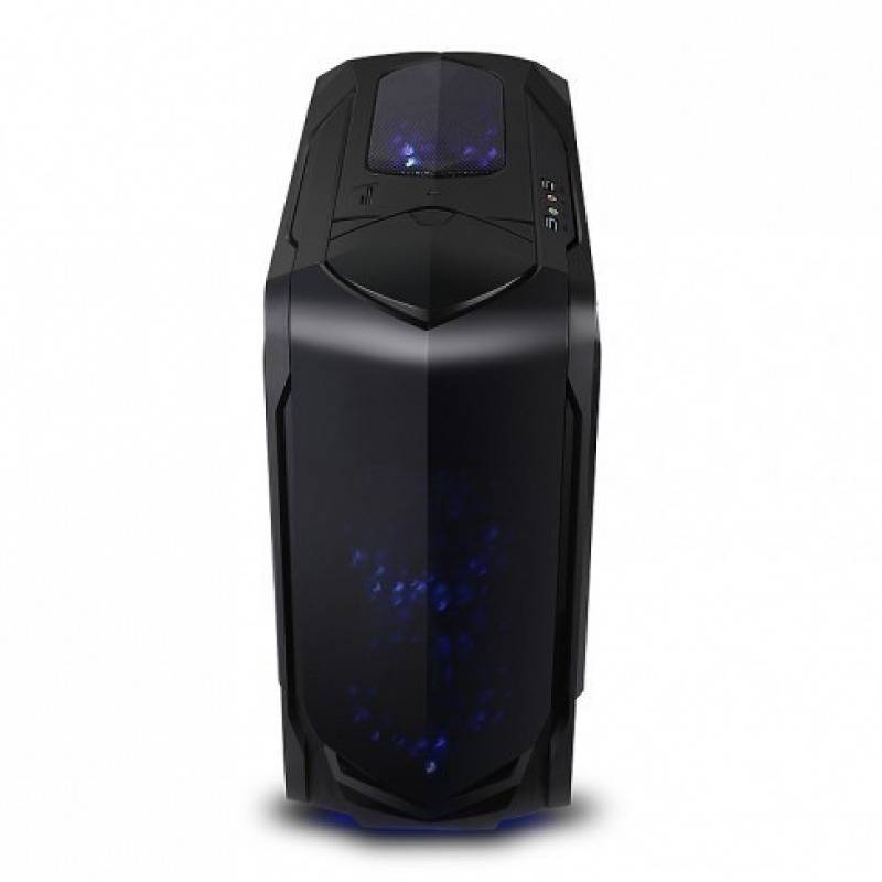 X2 Caja MATX  Spitzer 6022B-CE/R-2U3 Negra sin fuente
