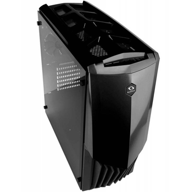 RaidMax Caja Gaming  gama A18TB 12cm Ventilador Color Negro USB 3.0