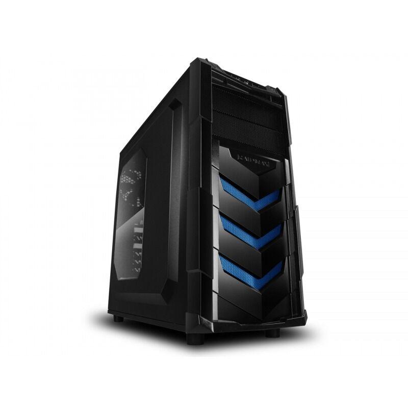 RaidMax Caja Gaming  Vortex V4 404WU ATX Mid Tower Gaming (Azul)