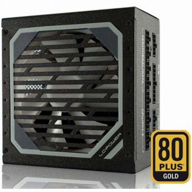 Fuente de alimentación LC-Power 1000W 80+ Gold Full Modular