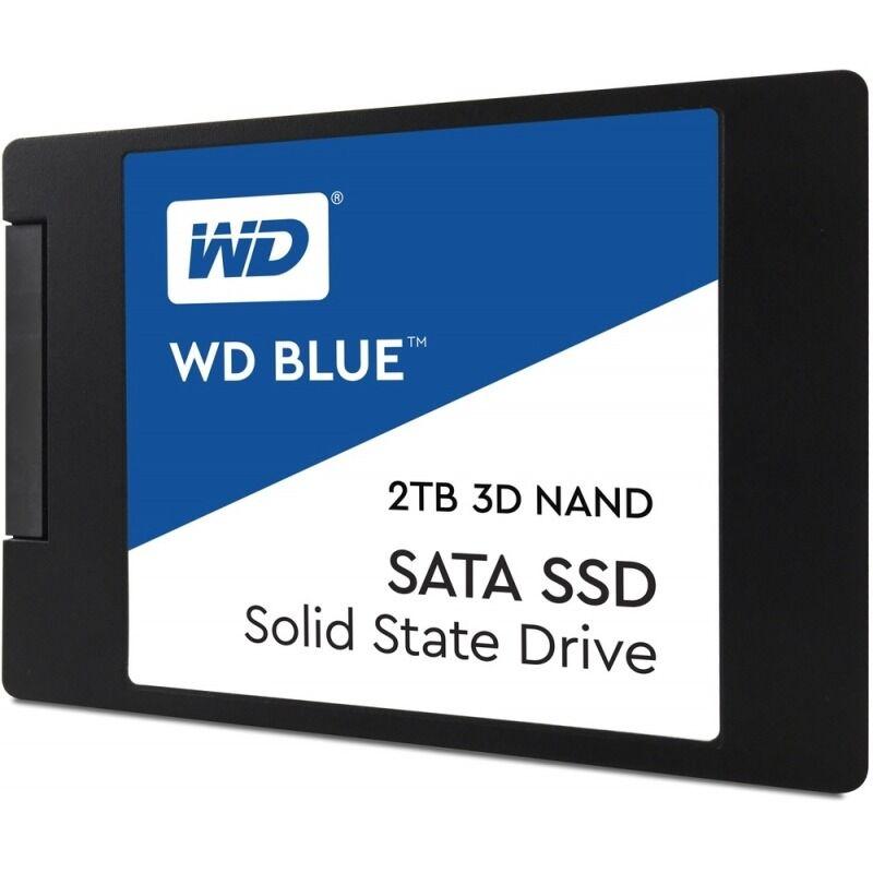 """Western Digital SSD  2TB WD BLUE SATA 2.5"""""""