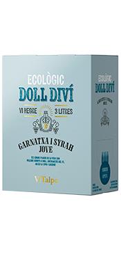 Bodega Vitalpe Doll Diví Tinto Joven Syrah y Garnacha 2020 (bag in box 5 litros)
