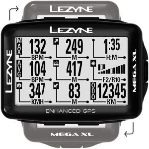 Lezyne Ciclocomputadora GPS  Mega XL  - One Size Negro