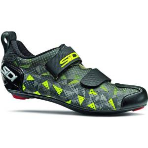 Sidi Zapatillas de triatlón  T-5 Air - EU 46.5 Grey/Yellow/Black