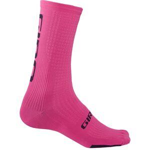 Giro Calcetines  HRc Team - XL Pink/Black   Calcetines