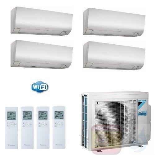 Daikin Aire Acondicionado Cuatro Split 5+5+7+7 Btu Perfera Ftxm-N Wifi Ctxm15n +ctxm15n +ftxm20n +ftxm20n +4mxm68n A++ A+