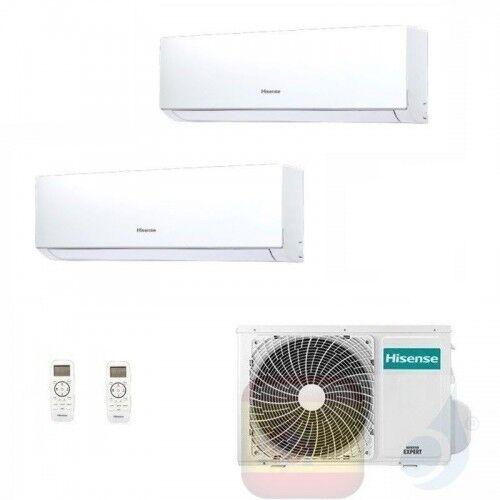 Hisense Aire Acondicionado Dual Split 7+12 Btu New Comfort Wifi Opc Dj20yd00g+ Dj35ve0ag+ 2amw50u4rxa A++ A++ 7000 12000 R-32