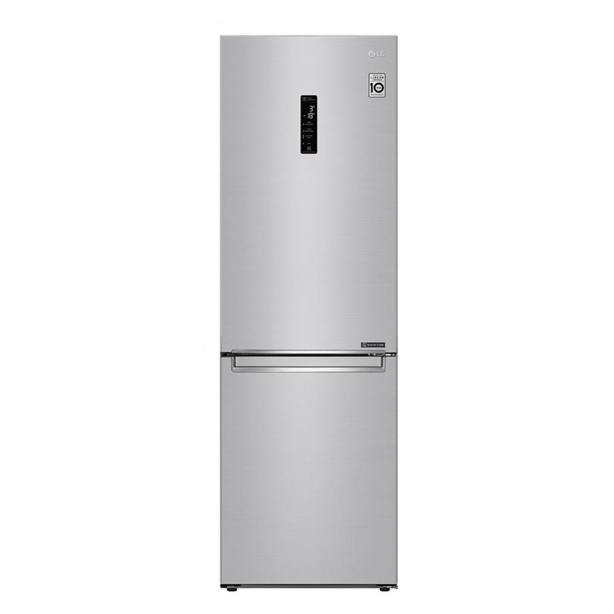 LG Frigorífico Combi Gbb71nsdfn Y Congelador Independiente Acero 341 L A+++