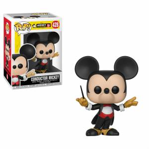 Pop! Vinyl Figura Funko Pop! Mickey Director de Orquesta - Disney Mickey Mouse 90.° Aniversario