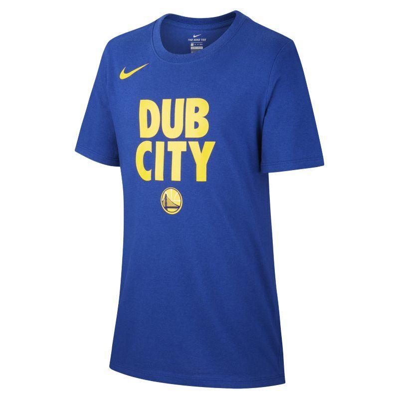 Nike Golden State Warriors Nike Dri-FIT Camiseta de la NBA - Niño - Azul