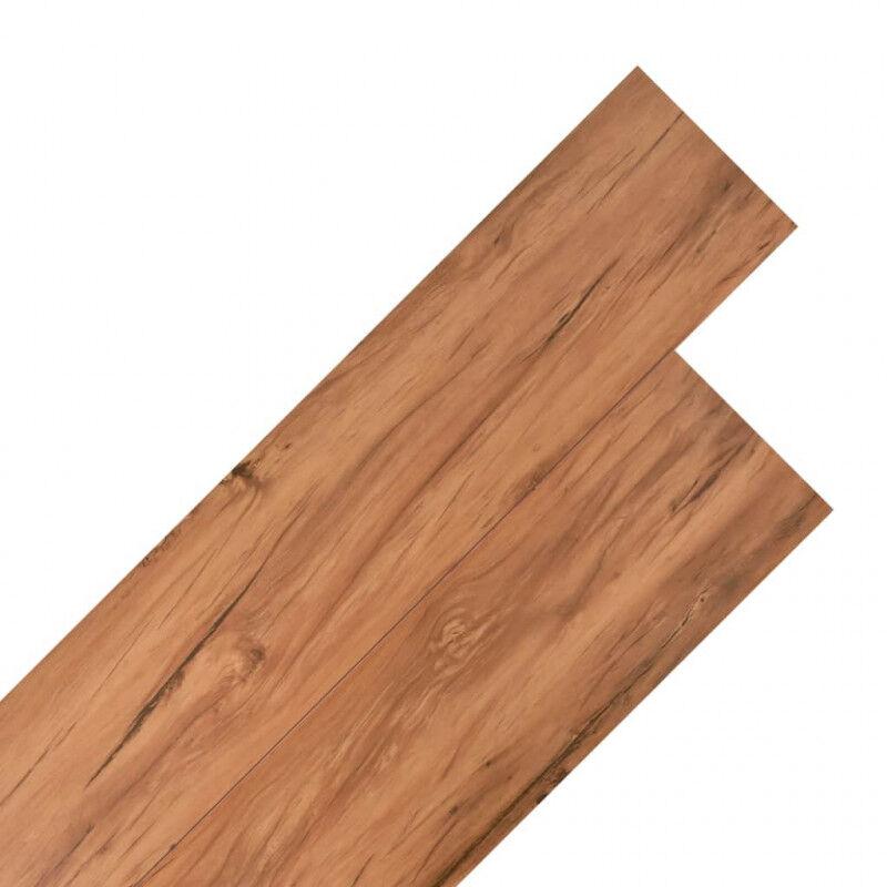 VidaXL Lama para suelo de PVC 5,26m² 2mm olmo natural Vida XL