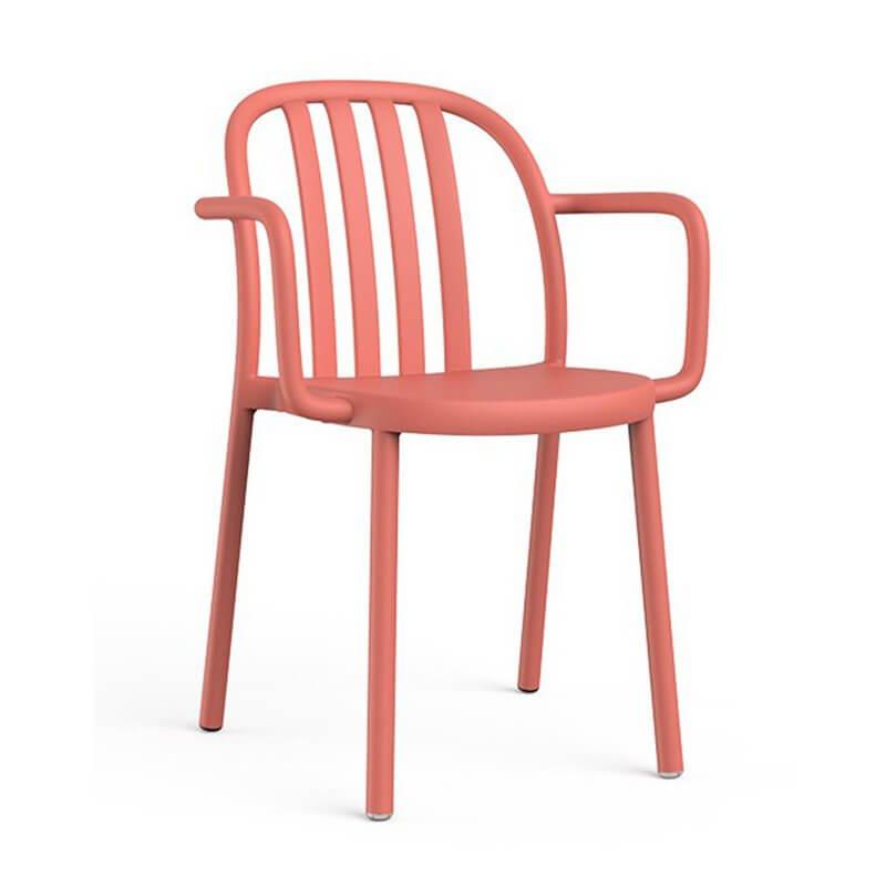 Resol Juego de 2 sillas terracota con brazos Sue Resol