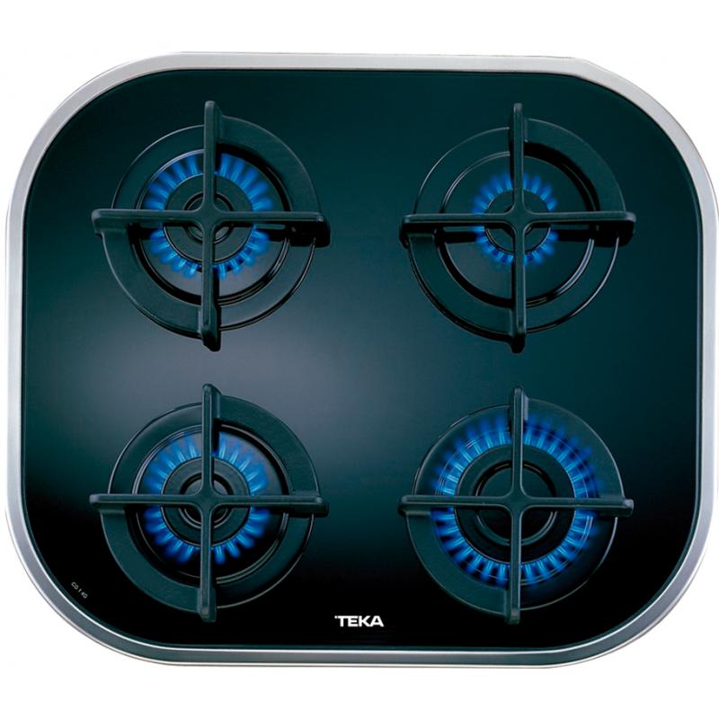 Teka Placa de cocina inoxidable de gas natural Teka